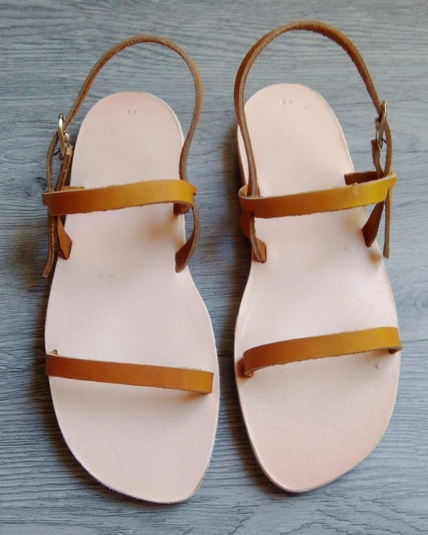 Sandale Romaine Naturel femme